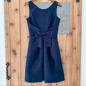 Kate Spade Navy Jillian Bow Dress